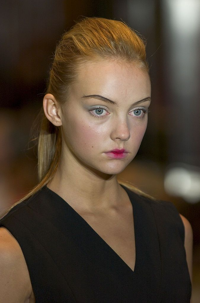 Models on Runway - Makeup by Lancome during Olympus ...