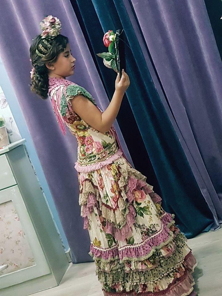 Maricastaña Traje Flamenca Niña Vestidos De Arras Niñas Vestido Flamenco Niña