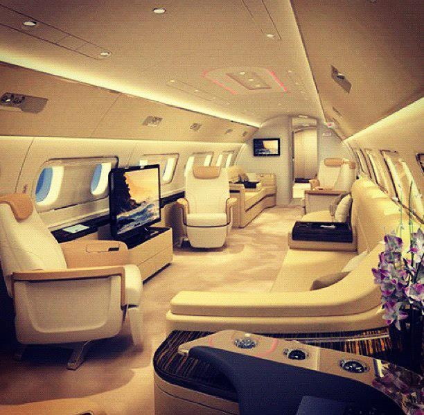 Airbus A380 Interior Private: 151 Best Images About Luxury Private Jets On Pinterest