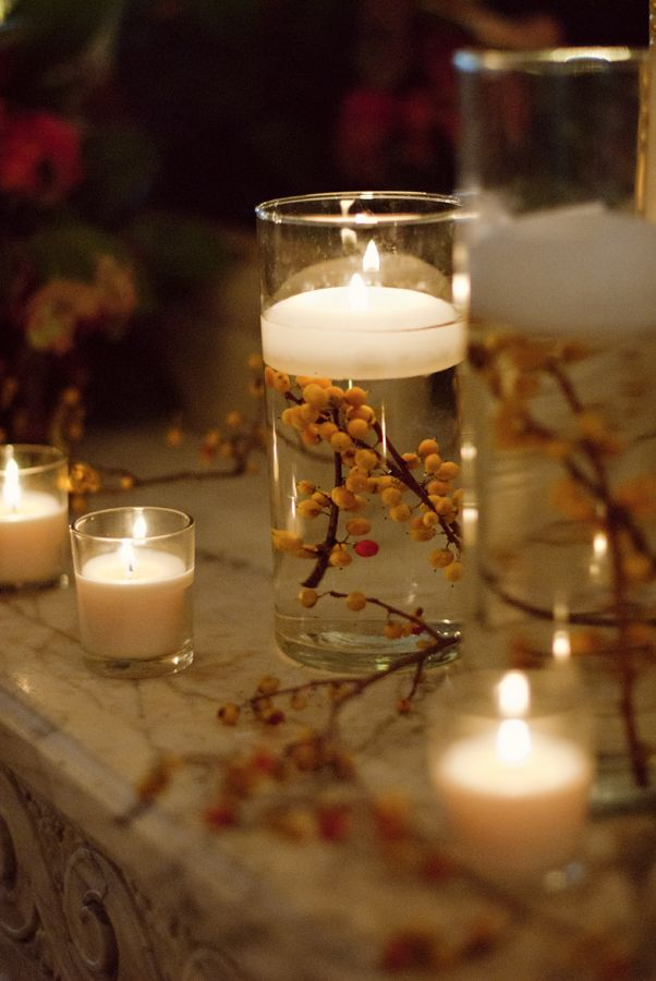 Alexandra wilson floating candle centerpiece could use