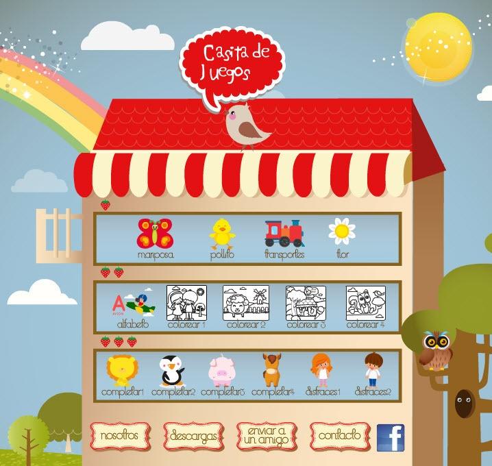 Casita de Juegos | juegos online para los más chiquitos