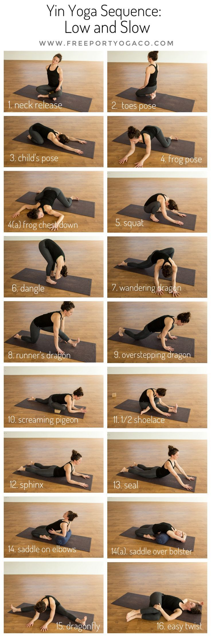 "This month's Yin Yoga Sequence is aptly titled ""Low and Slow"", inviting an earthy, grounded energy, and physically, targeting the lower body, including the feet and ankles. As always, I take into consideration my runners and athletes, who are currently coming off race season, or getting ready for the last big races, and this sequence is perfect for either phase of training."
