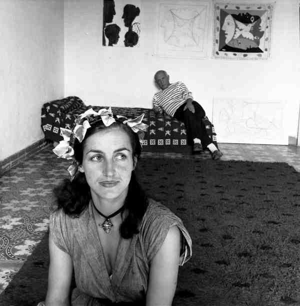 Picasso et Françoise Gilot Vallauris 1952 |¤ Robert Doisneau | 30 janvier 2016 | Atelier Robert Doisneau | Site officiel