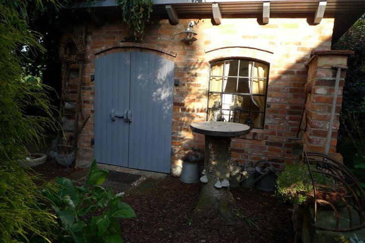 Gartenhaus - Maurerarbeiten abgeschlossen - Karin Urban - Natural STyle