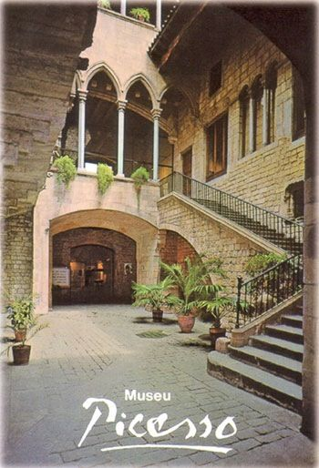 museum picasso barcelona: