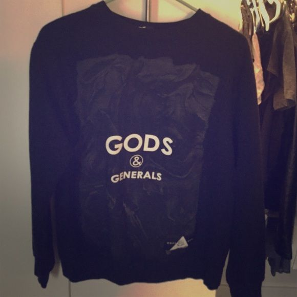 Gods and Generals logo sweater Never worn Gods and generals Sweaters