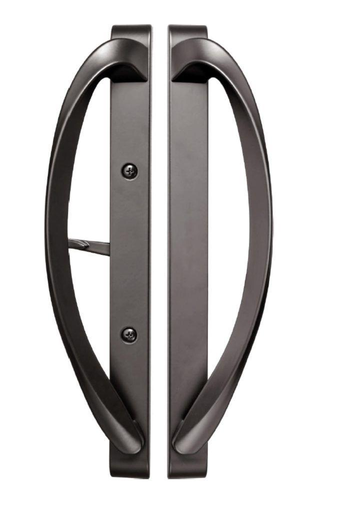 Rockwell Modena Contemporary Sliding Door Handle In Tuscan Bronze Finish Sliding Door Handles Door Handles Sliding Patio Doors