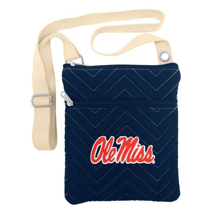 Cross Body Bags NCAA Ole Miss Rebels Team Color Team Logo
