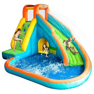 Water Slide Waterglijbaan Springkussen   Super leuke 2 in 1