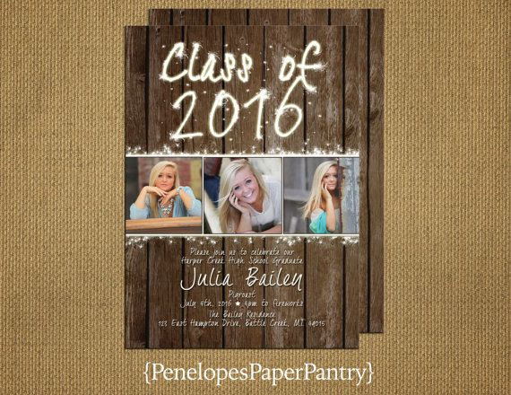 17 Best ideas about Unique Graduation Invitations – Order Graduation Invitations