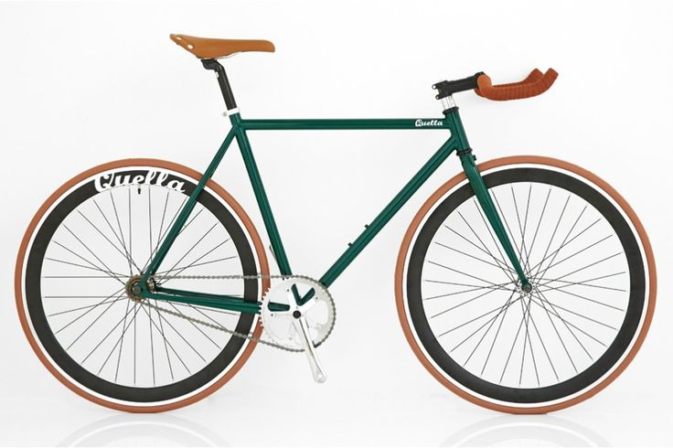 Quella One 2014 Racing Green #fixie #bicycle