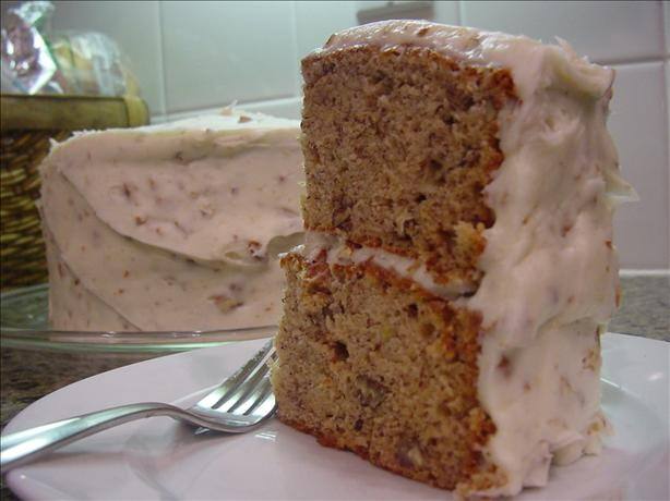 Paula Deens Banana Nut Cake With Cream Cheese Frosting Had This At Her Wedding