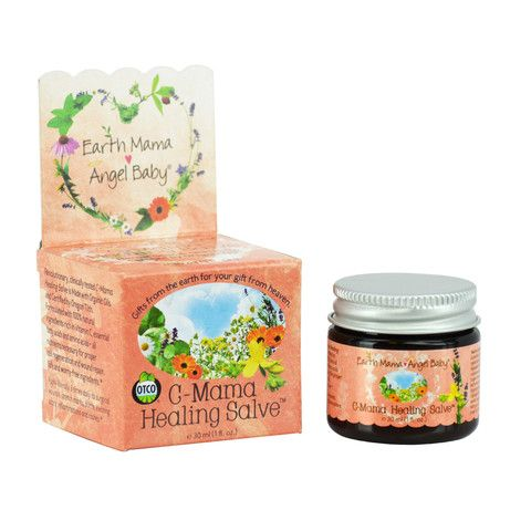 C-Mama Healing Salve, can be used for c-section healing.
