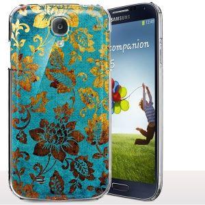 Coque Samsung S4 Mini Floral Gold. #Coque #coquetelephone #Samsung #S4 #Mini #i9195