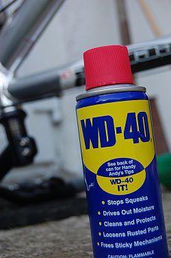 """11 usos del WD-40 o """"afloja todo"""""""