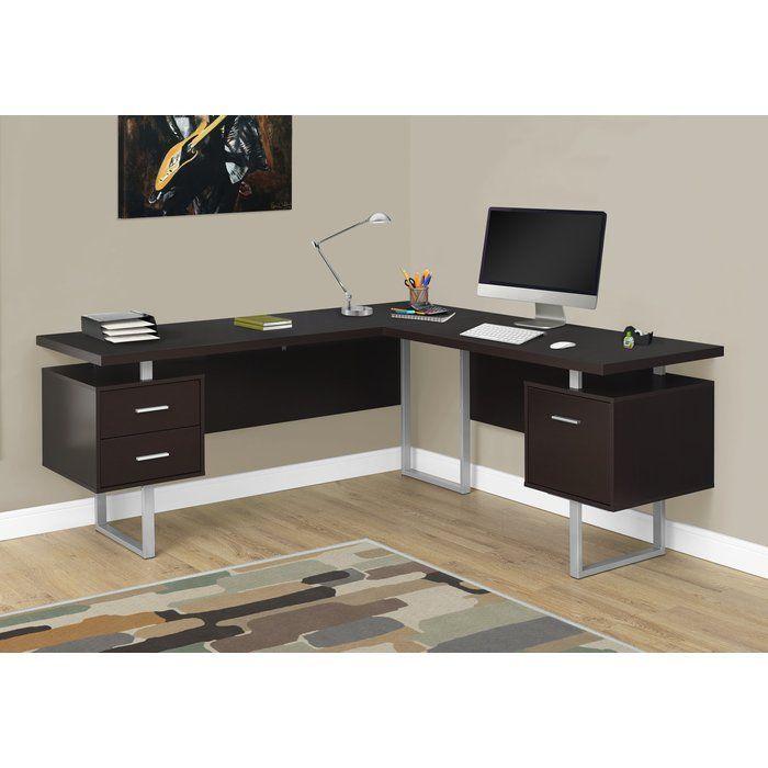 Sova 3 Drawer L Shape Corner Desk 2019 Pallet Ideas L Shaped