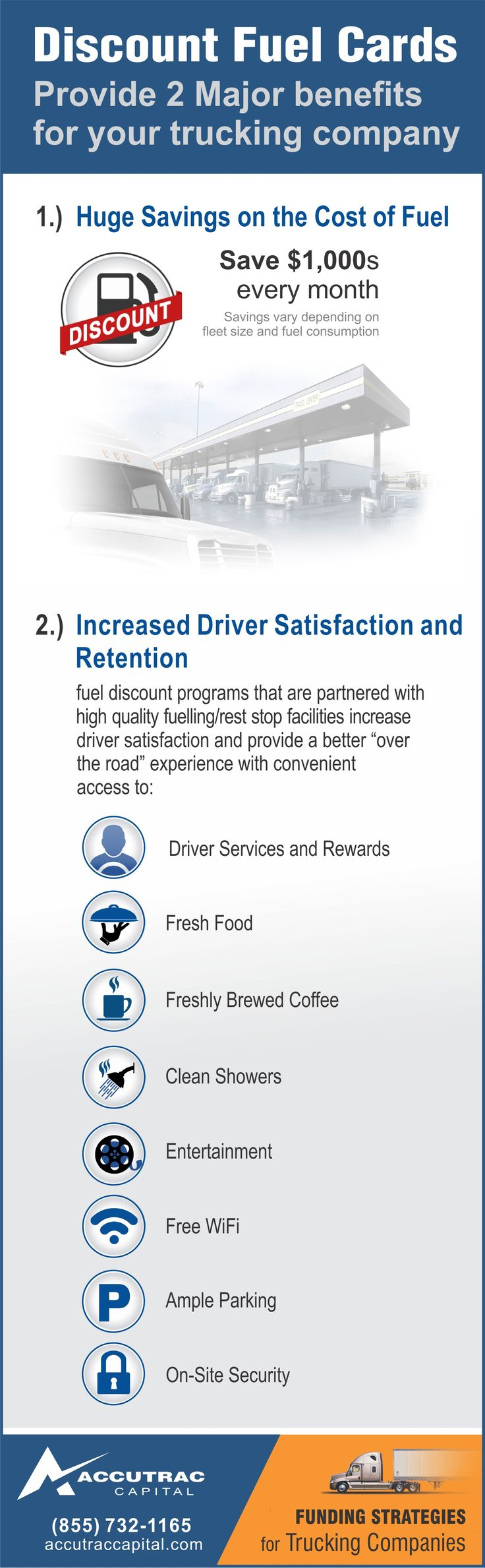 Discount Fuel Cards 2 Major Benefits For Your Trucking Company Finance Blog Small Business Funding Cards