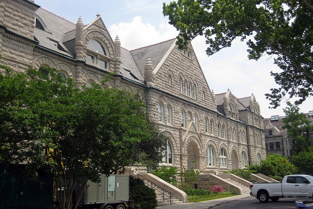 Designed in 1894, Gibson Hall at Tulane University in New Orleans is the oldest building on campus.