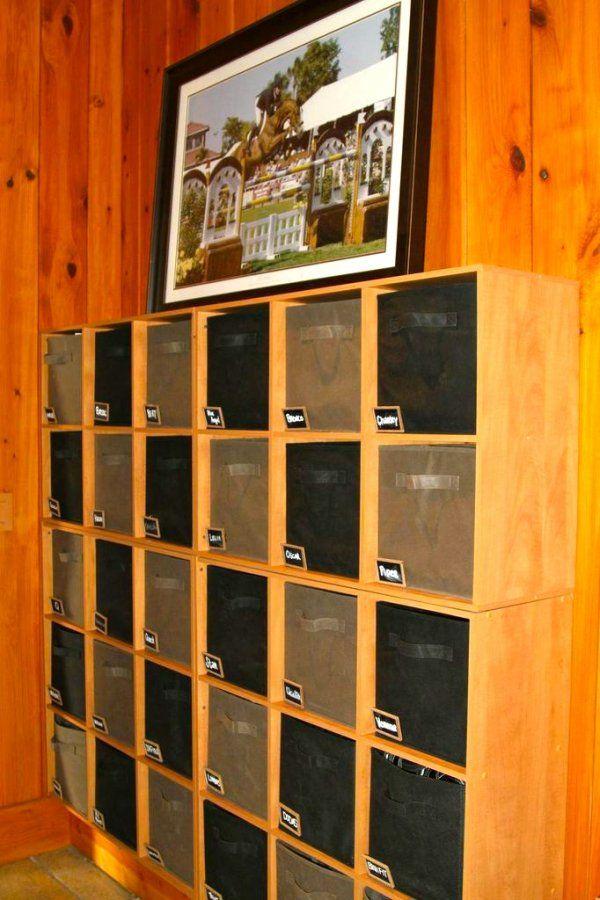 Andrea Robbins Kent Farrington Barn Tour 21 StorageStorage IdeasTack
