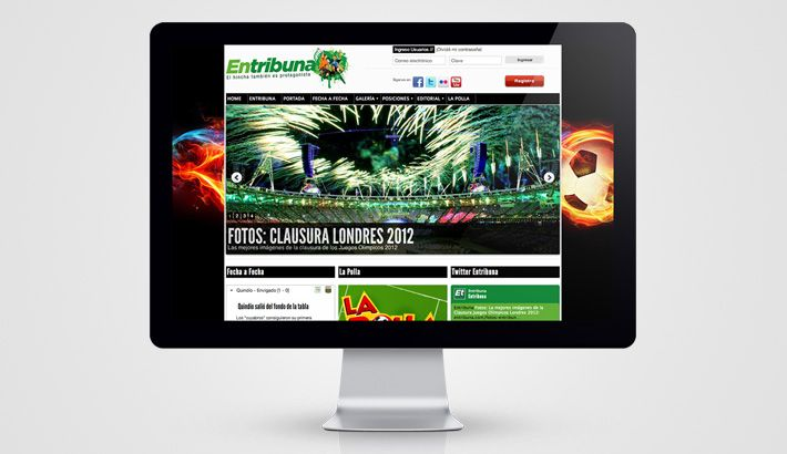Entribuna Website