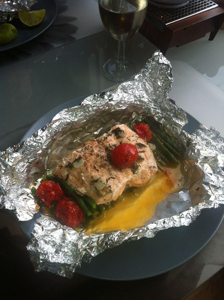 'Koken met Karin' #zalm #oven #tijm