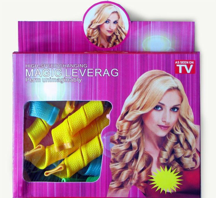 Magic Leverag Hair Curler Set