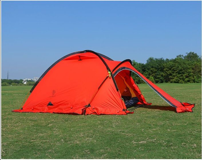 [Visit to Buy] silicone nylon fiber Tent 4 season persons c&ing tents ultralight tent for high altitude low temperture winter tent & Best 25+ Winter tent ideas on Pinterest | Winter tent camping ...