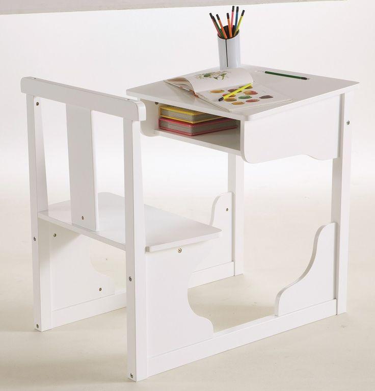 Scola lasten pulpettipöytä, väri valkoinen