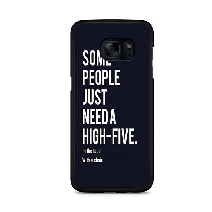 Some People Just Need A High-Five Samsung Galaxy S7 Edge Case