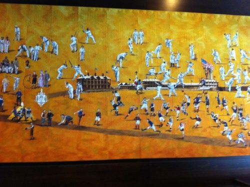 Collage depicting 175 years of the MCG