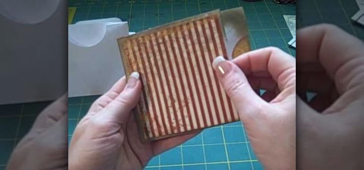 In this video, we learn how to make a multi-pocket/tag envelope page for mini scrapbook. To start, you will need to put the different pieces of paper together. You will need to use a standard number 10 envelope, then trim off each end so that the envelope body is nine inches long. Then, stick down the flap and then score from one end out four inches to the middle. Then, fold this down. After this, you will cut the ends off and two pockets will be created. Now, cut out half circles to create…