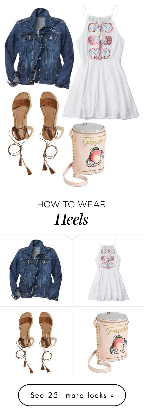 """""""Head Over Heels"""" by xxbreebreexx on Polyvore featuring Gap, Hollister Co. and Betsey Johnson"""