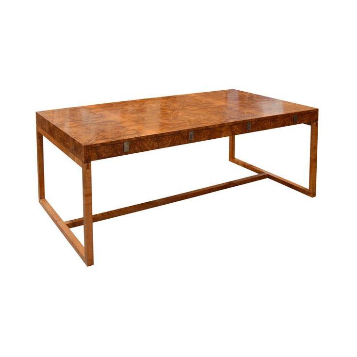 Burl Myrtle Desk by Anton Gerner - bespoke contemporary furniture melbourne