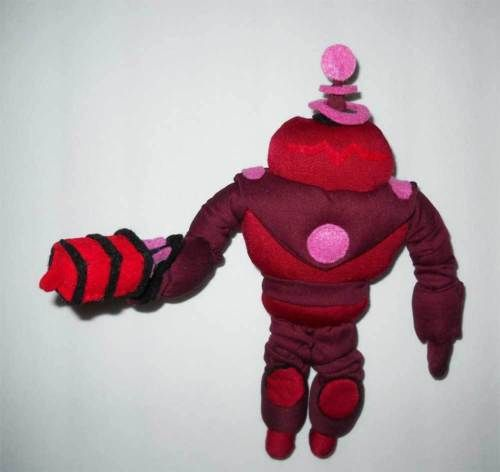Boys Plush Toys : Skylanders blaster tron inch plush toy handmade us