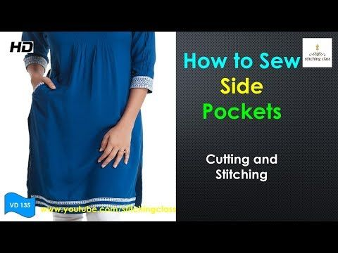 how to learn cutting and stitching
