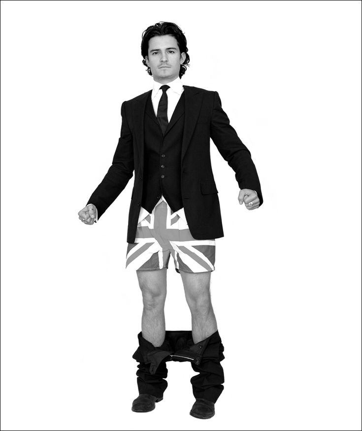 Orlando Bloom by Andy Gotts
