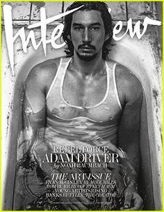 Adam Driver - Interview Magazine Cover