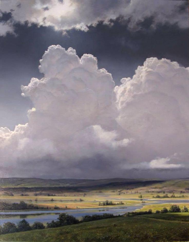 Stunning cloud painting