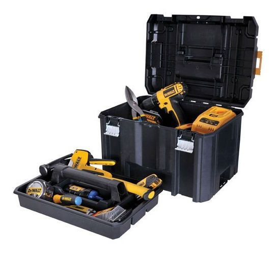 Dewalt TSTAK 44 In. Deep Portable Contractors Jobsite Tool Box Storage  Container #DEWALT