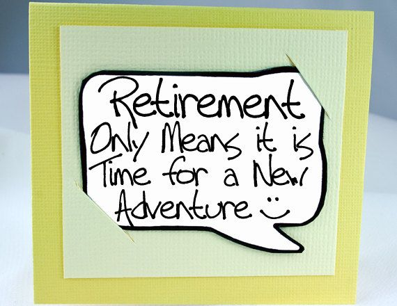 93 best Retirement cards images on Pinterest | Cards, Diy cards and ...