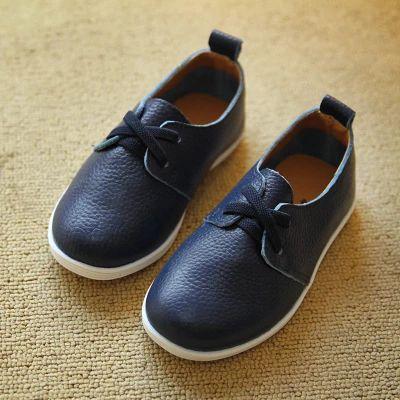 Корейская версия кожу мягкой кожаной обуви весеннего половодья ребенок дети мальчики девочек обувь 2015 весной моделей новые белые ботинки - Taobao