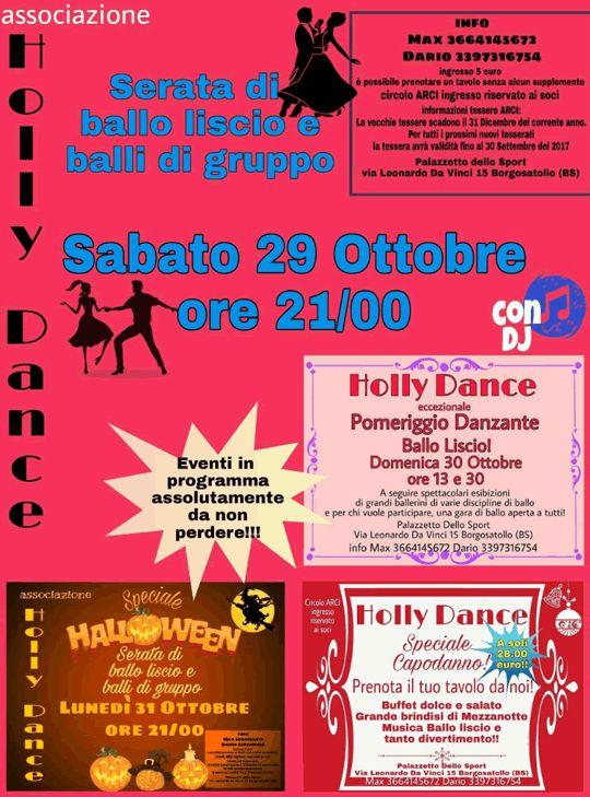 Serata di Ballo Liscio e Balli di Gruppo a Borgosatollo