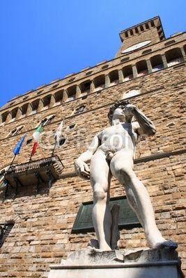 Florenz, Palazzo della Signora, Firence, David, Toscana