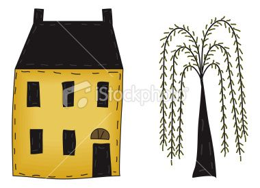 Folk Art/Primitive Tole and Decorative Painting Patterns from