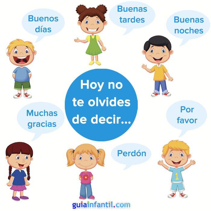 Un pequeño recordatorio para fomentar los buenos modales. http://www.guiainfantil.com/articulos/educacion/conducta/la-buena-educacion-en-los-ninos-decir-hola-gracias-y-adios/