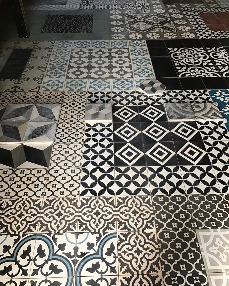 """223 Likes, 7 Comments - Antique and Encaustic Tiles (@jatanainteriors) on Instagram: """"Watch your step! #showroom #encaustictiles #handmadetiles #antiquetiles #tiles #cementtiles…"""""""
