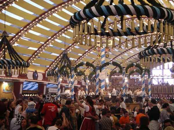 It's That Time of the Year - Oktoberfest at Alpine Village - Hollywood Hotel:  Carrousel,  Merry-Go-Round, Oktoberfest Munich,  Whirligig, Löwenbräu Beertent, Beer Festivals, Munich Oktoberfestth,  Roundabout, Beer Hall
