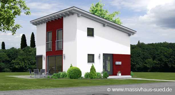 sch nes massivhaus mit pultdach bietet viel platz bei. Black Bedroom Furniture Sets. Home Design Ideas