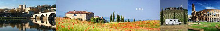 campervan hire, Italy, motorhome hire rental, Milan, Rome, Florence, Pisa, Venice