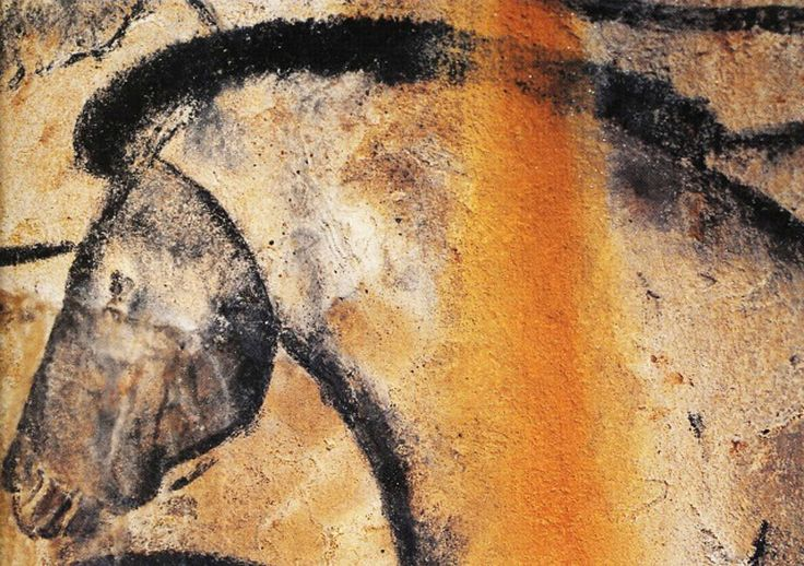 Detail of a cave bear head, Chauvet. Note the way the ... |Lascaux Cave Paintings Bear